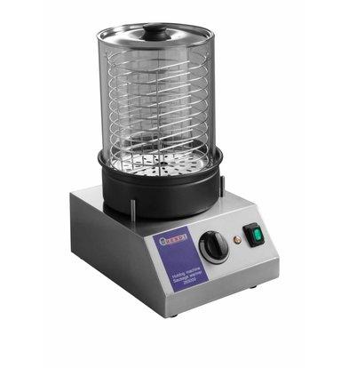 Hendi Hotdog-Maschine - Sausage Warmer - 500W - 240x300x400mm