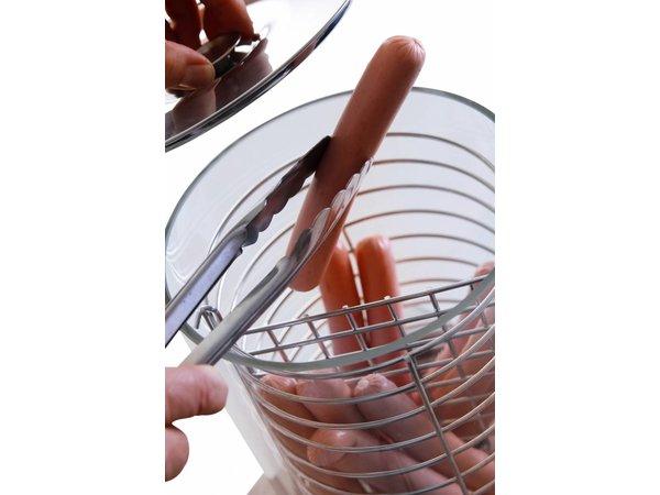 Hendi Hotdog Machine - Worstenwarmer - 500W - 240x300x400mm