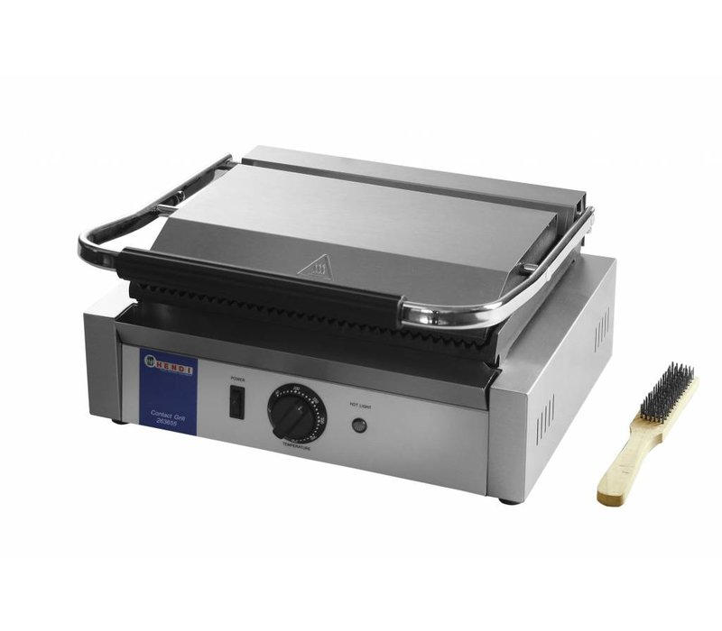 Contact Grill Panini   Corded / ribbed   430x370x (H) 210mm   2200W