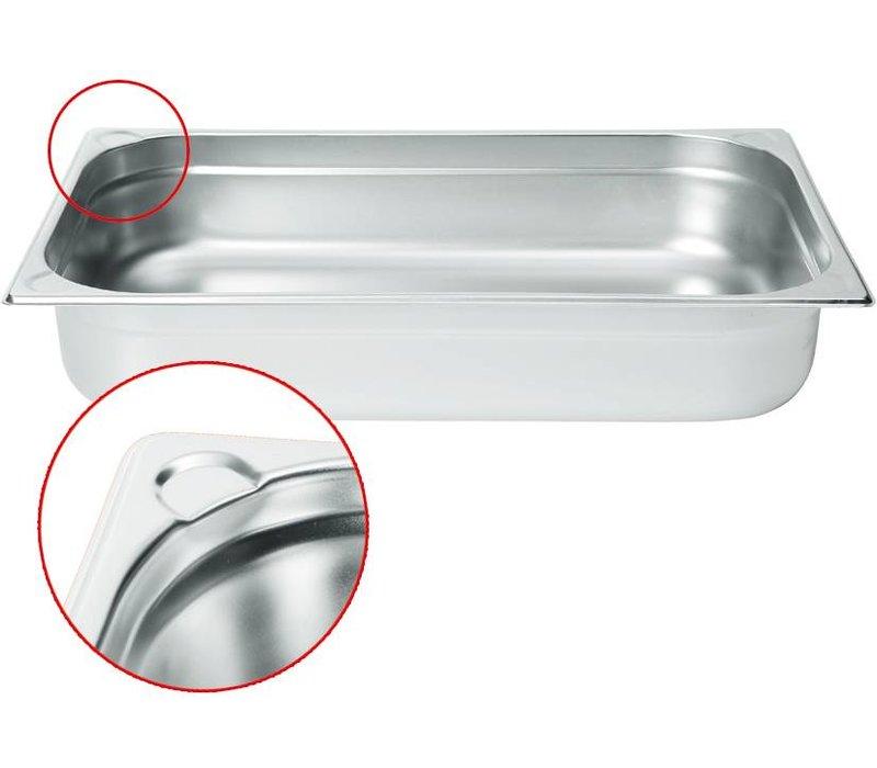 Hendi Gastronormbak RVS 1/1 - 100 mm | 325x530mm