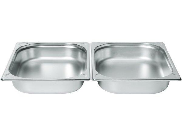 Hendi Gastronormbak RVS 1/2 - 100 mm | 325x265mm