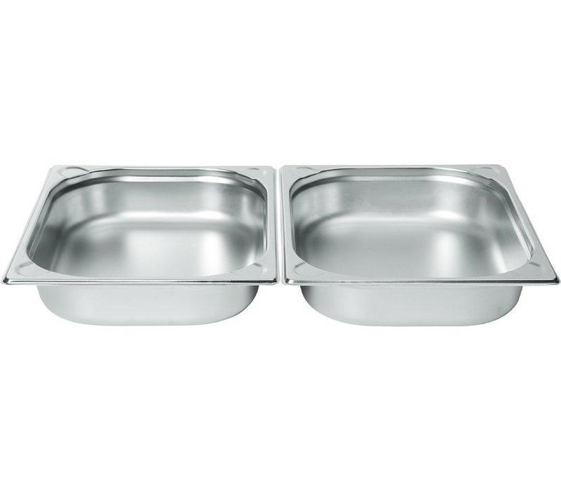 Hendi Gastronormbak RVS 1/2 - 65 mm   325x265mm