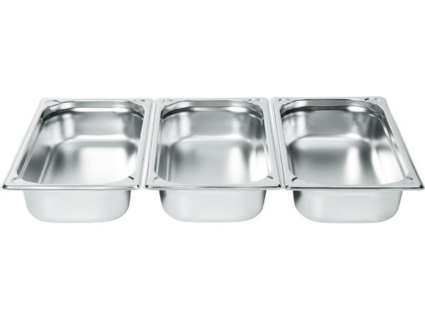 Hendi Gastronormbak RVS 1/3 - 40 mm | 325x176mm