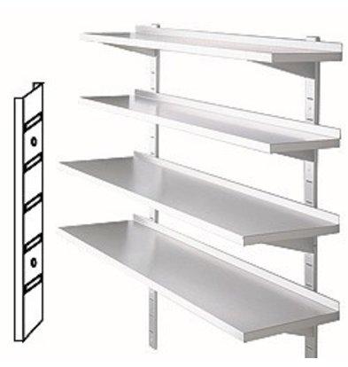 Diamond Rails for wall shelves - 300mm