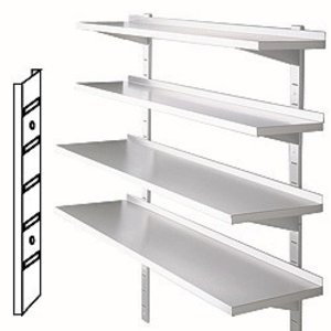Diamond Rails for wall shelves - 600mm