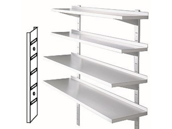 Diamond Rails for wall shelves - 900mm