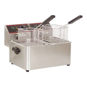 Caterchef Fryer CaterChef | XXL Offer | 5 + 5 Liter | 2x2kW | 385x240x (H) 310mm
