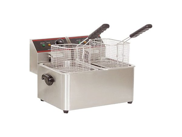 Caterchef Fryer CaterChef   XXL Offer   5 + 5 Liter   2x2kW   385x240x (H) 310mm