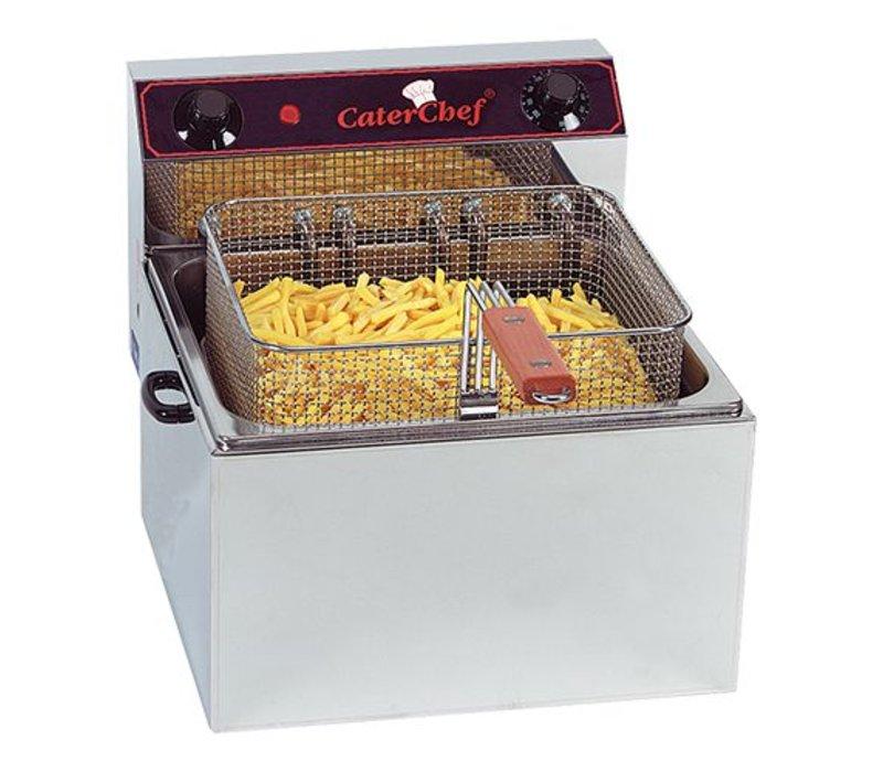 Caterchef Electric Fryer | 10 Liter | 6 kW | 400V | 370x430x (H) 290mm | XXL OFFER