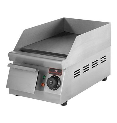 Caterchef Fry Top Electric Smooth - 26x42x (h) 27 cm - 1,5 kW