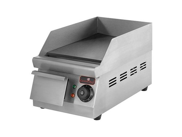 Caterchef Fry Top Electric Smooth - 26x42x (h) 27cm - 1.5 kW