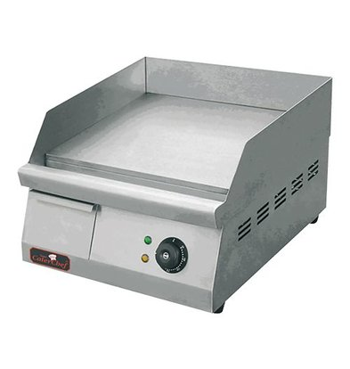 Caterchef Fry Top Electric Smooth - 42x26x (h) 27 cm - 1,5 KW