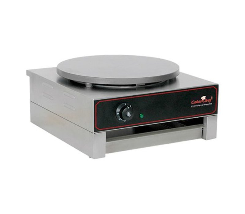Caterchef Crepes Maker Professional | Single | Electrical | 3000W / 230V | 40 cm Durchmesser
