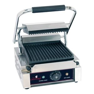 Caterchef Contact Grill Catering | Corded / ribbed | 290x400x210 (h) | 1800W