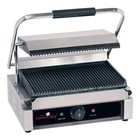 Caterchef Horeca Contact Grill Solo Grande | ribbed | 410x400x (h) 210 | 2200W