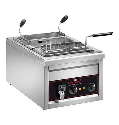 Caterchef Pastakookapparaat | 25 liter | Inc 3 mandjes | 3200W | 230V | 400x700x(H)340mm