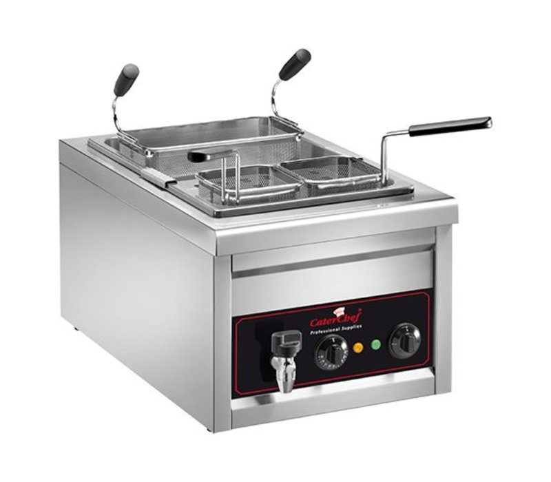 Caterchef Pasta Kochgerät | 25 Liter | Inc 3 Körbe | 3200W | 230 | 400x700x (H) 340mm