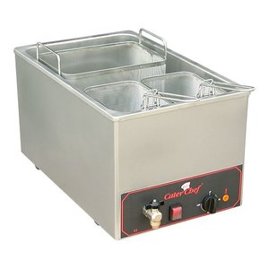 Caterchef Pastakookapparaat | 18 liter | Inc 3 mandjes | 3200W | 230V | 350x480x(H)290mm