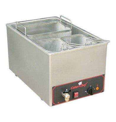Caterchef Pasta Cooking Appliance | 18 liter | Inc. three baskets | 3200W | 230V | 350x480x (H) 290mm