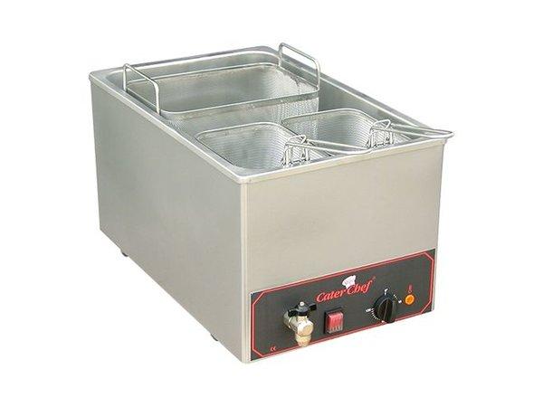 Caterchef Pasta Kochgerät | 18 Liter | Inc. drei Körbe | 3200W | 230 | 350x480x (H) 290mm