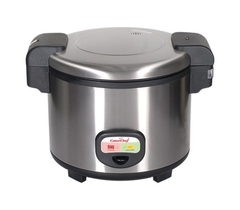 Caterchef Jacketed Rice Cooker - Stainless Steel - 30 people - 5.4 Liter
