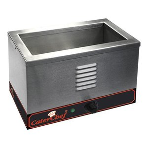 Caterchef Bain Marie | RVS | 1/3 GN | 1000W | 370x220x(H)270mm