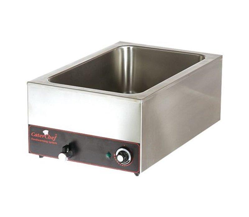 Caterchef Bain Marie GN 1/1 | 610x380x (H) 240 | 1200W | Drain valve