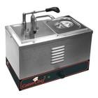 Caterchef Bain-Marie Sauce Dispenser 2 x 1/6 GN + Dispenser and Lid