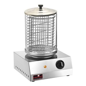 Caterchef Hot Dog Sausage Warmer - Stainless Steel - 800W - 280x270x400 (h)