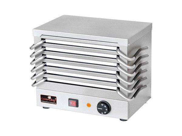 Caterchef Rechaud Platten - 6 Platten - 800W - 370x245x (H) 310 mm