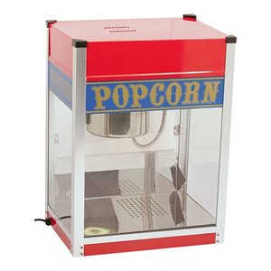 Caterchef Popcorn Machine | RVS | 1.5kW | met Verlichting | Vet Opvangbak | 520x380x(H)690mm