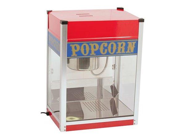 Caterchef Popcorn-Maschine   Edelstahl   1,5 kW   mit Beleuchtung   Fat Tray   520x380x (H) 690mm