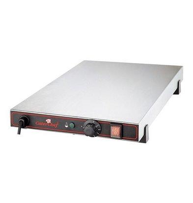 Caterchef Elektrische Warmhoudplaat - RVS - 1/1 GN - 53x33x(h)9cm