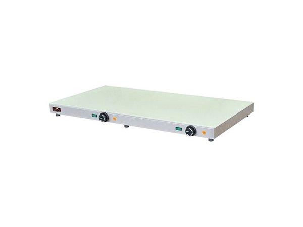Caterchef Elektrische Warmhoudplaat - Glasplaat - 100x50x(h)7cm