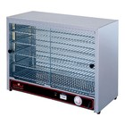 Caterchef Warming Showcase SS - 5 Termine - 2 Schiebefenster - 640x360x (h) 530mm
