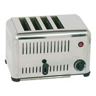 Caterchef Stainless Steel Toaster 4-Steckplätze - 37x21x (H) 23cm - 2000W