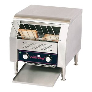 Caterchef Go through Toaster | XL Hotel - adjustable speed - 37x42x (H) 39cm - 1940W