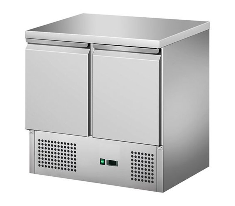 CaterCool Cool Workbench - RVS - two doors - 90x70x (h) 85cm