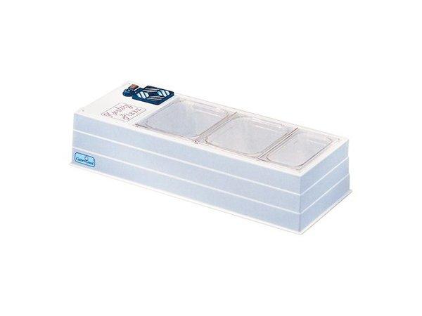 CaterCool Struktur Showcase Buffet - gekühlt - Micro - 102x45x30 (h) cm
