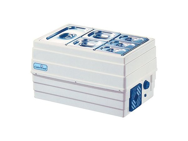 CaterCool Struktur Showcase Buffet gekühlt - Gastro - 60x40x35 (h) cm