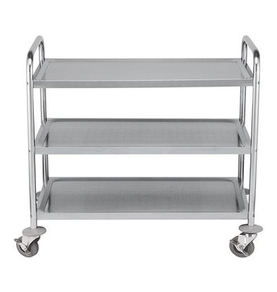 Emga Trolley Stainless 3 Blades | 970 (L) x550 (W) x (H) 950mm