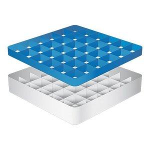 CaterRacks Foot glass basket - 36 boxes - (h) 12 cm - 7.4 cm diameter