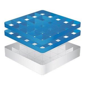 CaterRacks Foot glass basket - 25 boxes - (h) 16 cm - 9 cm diameter