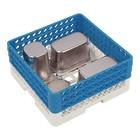 CaterRacks Universalkorb 50x50x22 (h) + 3x Trichterverlängerung
