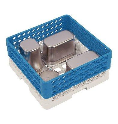 CaterRacks Universal Basket 50x50x22 (h) + 3x hopper extension