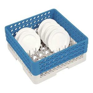 CaterRacks Plates Basket 50x50x22 (h) + 3x hopper extension