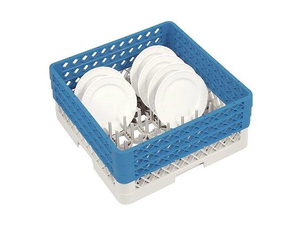 CaterRacks Platten Basket 50x50x22 (h) + 3x Trichterverlängerung