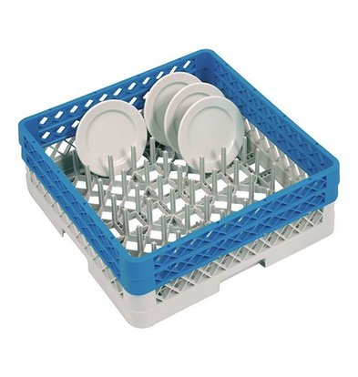 CaterRacks Platten Basket 50x50x18 (h) + 2x am Rand gegossen