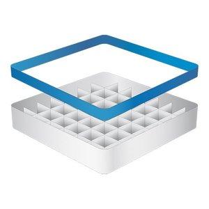 CaterRacks Beakers basket - 49 boxes - (h) 12 cm - 6.3 cm diameter