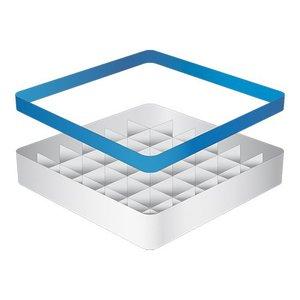 CaterRacks Beakers basket - 36 boxes - (h) 12 cm - 7.4 cm diameter